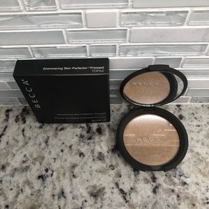 Becca Shimmering Perfector Pressed In Topaz New